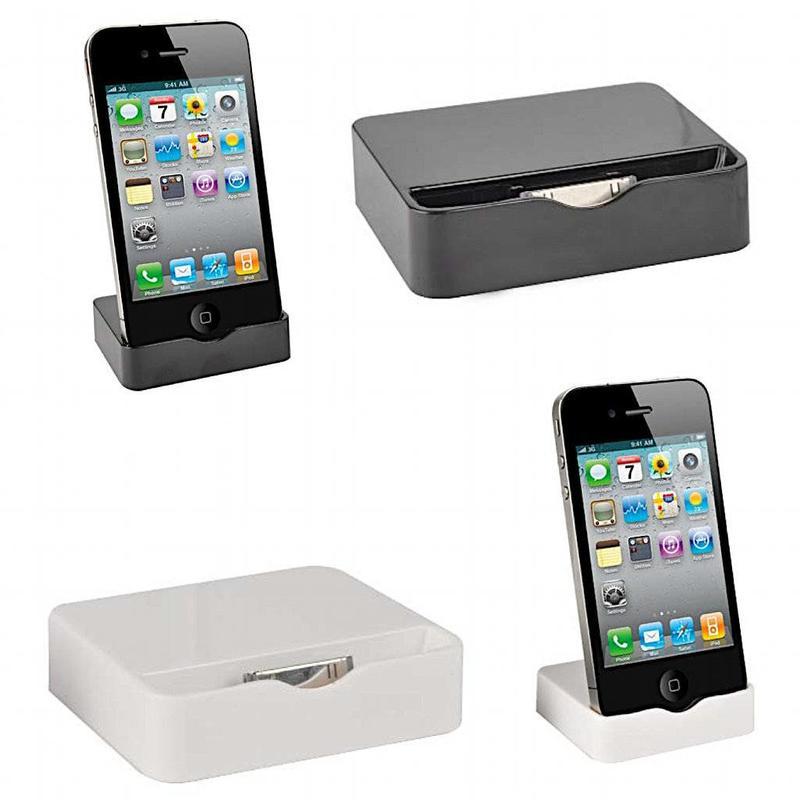 Overig Muvit Dock Slim voor Iphone 4 en 4s wit