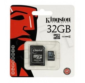 Kingston Kingston 32 GB Micro SD kaart met converter naar SD