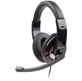 Gembird Gembird USB Gaming headset met microphone en bediening Matt zwart