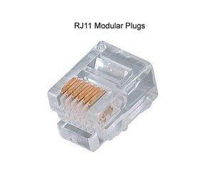 RJ11 Connector RJ-11 voor DSL, ADSL of telefoonlijn