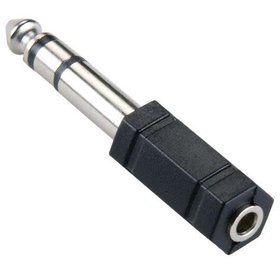 Bandridge Bandridge 6,35mm jack (M) naar 3,5mm Jack (F)