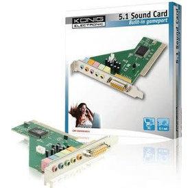 Konig Konig 5.1 geluidskaart PCI inbouw