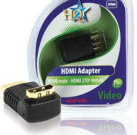 HQ HQ HDMI (M) naar HDMI (F) adapter hoek