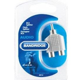 Bandridge Bandridge Tulp (M) naar 2x tulp (F) adapter