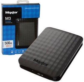 Maxtor Maxtor M3 Ext. HDD 500GB 2.5 inch. USB 3.0 voeding