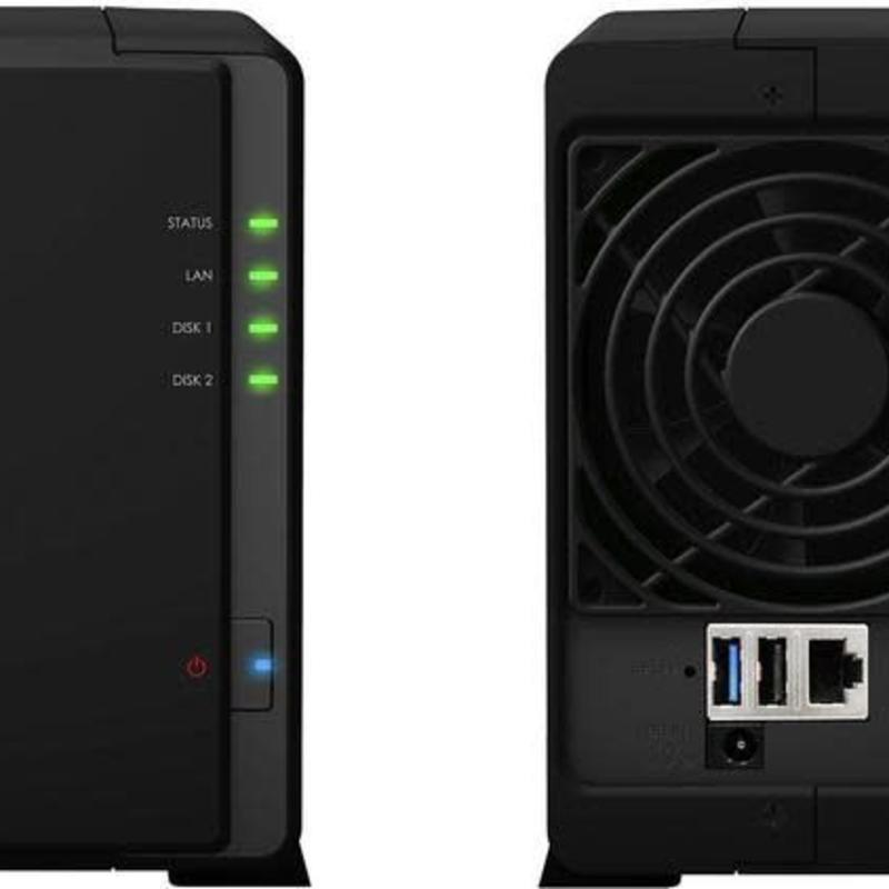 Synology DS216 Play Diskstation Dual bay nas exclusief harde schijven