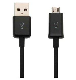 Samsung Micro USB kabel 1 Meter zwart USB lader kabel