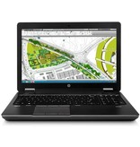 HP HP Zbook 15 G1 | Workstation | 15,6 Inch | Core I7 | Full HD | SSD | 8GB DDR3 | DVD Speler