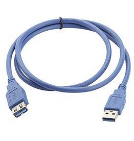 USB 3.0 Verlengkabel 1.8 Meter USB 3.0 Female to USB 3.0 Male Ook geschikt voor USB 2.0