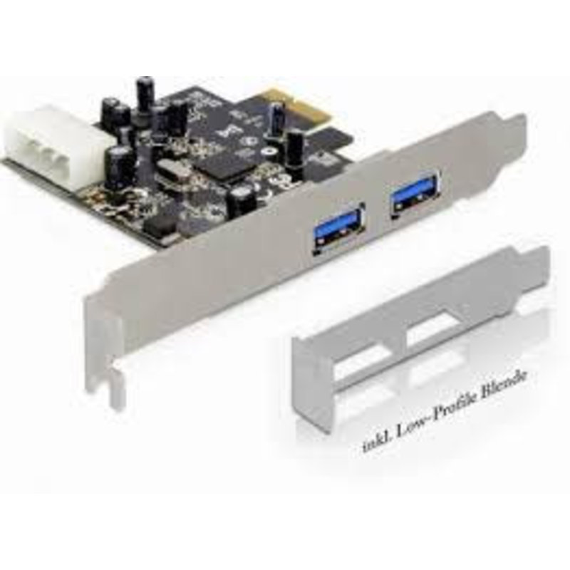 nec PCI USB 3.0 kaart 2 USB 3.0 achter en 2 intern (front panel)