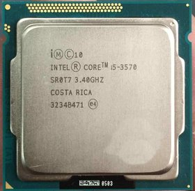 Intel I5-3570 3e Generatie I5 Processor 1155 Socket 3.4 to 3.8 Ghz