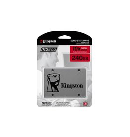Kingston UV500 240 GB SSD Ultra fast 2.5 inch Sata 520MB/s read 500/MB/s