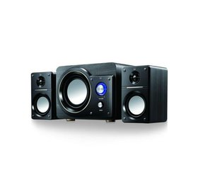 Ewent Ewent 3512 High Power Stereo Speaker Set 2.1 Zwart