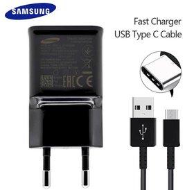Samsung Charger kit, Fast charger incl. USB-C kabel Samsung USB C Snel lader voor mobiel en tablet.