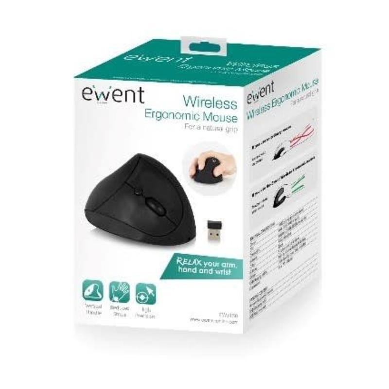 Ewent Ewent EW3150 Draadloze Ergonomische Muis