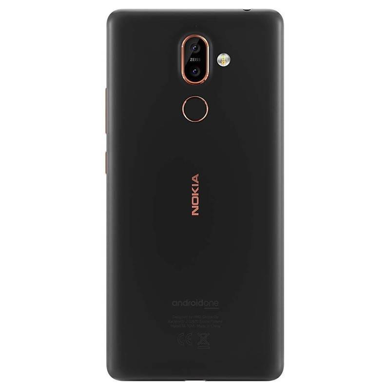 Nokia Nokia 7 plus | 64GB | Zwart/Brons