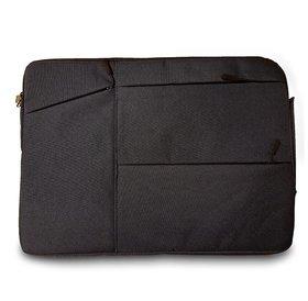 Notebook sleeve grijs | 14 inch | Grijs | Met voorvakje