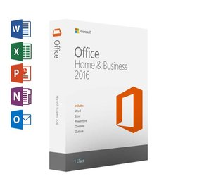 Microsoft Microsoft Office Home & Business 2016 met Outlook