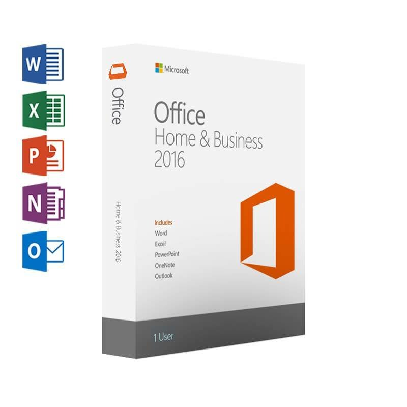 Microsoft Microsoft Office Home & Business 2016 met Outlook