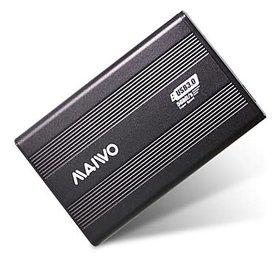 Maiwo Maiwo Externe harde schijf behuizing USB 3.0 voor 3.5 inch Sata schijven