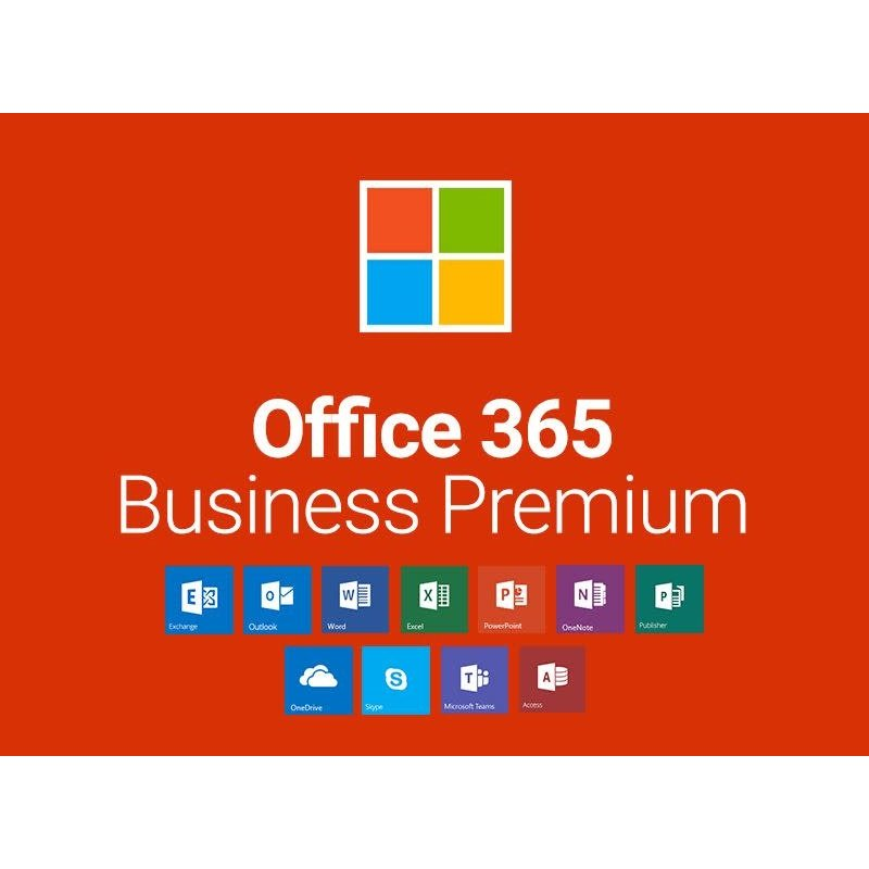 Microsoft Microsoft Office 365 Business premium incl exchange account en support per maand