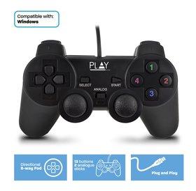 Play Play | Game Controller | Bekabeld voor PC en laptop | USB-A