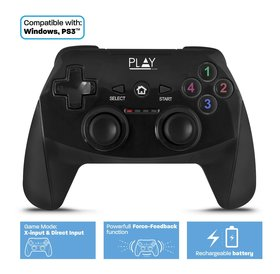 Play Play | Draadloze Universele Game controller | Voor PC, Laptop, PS3