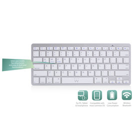 Ewent Ewent | Ultradun Bluetooth Keyboard - US lay-out (Qwerty)