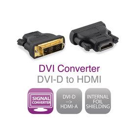 Ewent Ewent Verloopadapter DVI-D male - HDMI A female - rev1