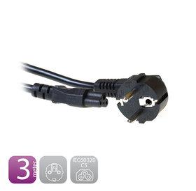 Ewent Ewent Voeding aansluitkabel 3 meter | Mickeymouse kabel