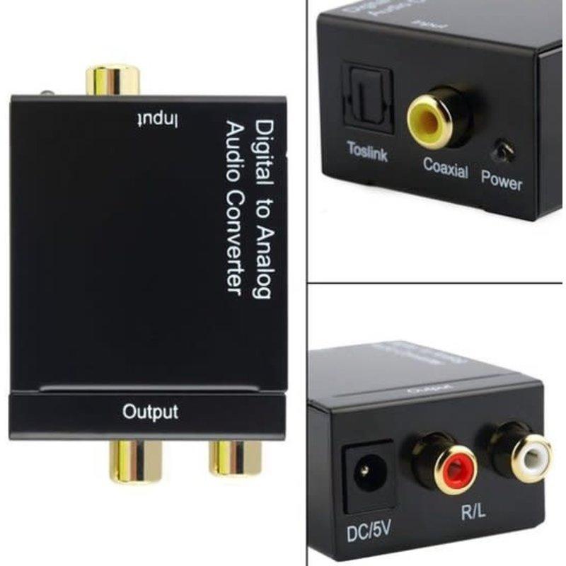 Digitaal naar analoge audio converter