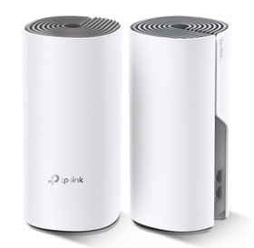 TP-Link TP Link Deco E4| Mesh Wi-Fi Systeem | 2x Mesh point | Dualband | Ouder controle