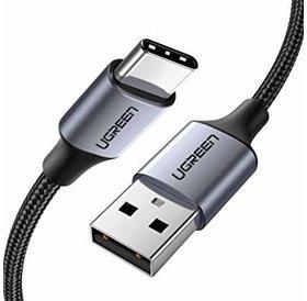 Ugreen USB A naar USB C | 3 Meter | space gray