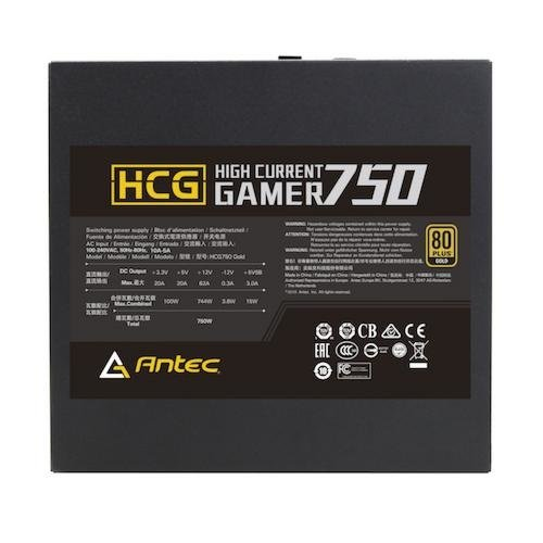 Antec PSU  750W HCG750 Gold EC Modulair