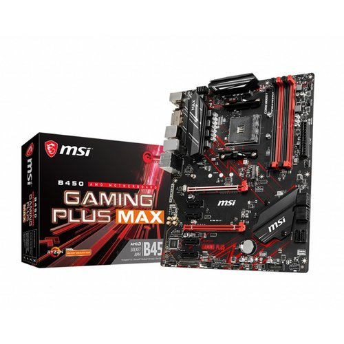 MSI B450 GAMING PLUS MAX moederbord Socket AM4 ATX AMD B450