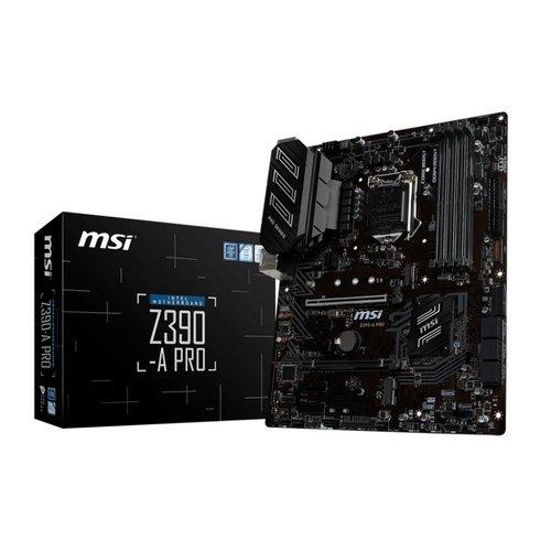 MSI MB  Z390-A PRO / 1151 8th comp / m.2  / 4x DDR4 / ATX