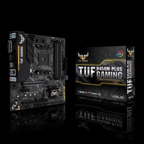 Asus MB  TUF B450M-Plus Gaming / AM4 / B450 / m.2 / mATX
