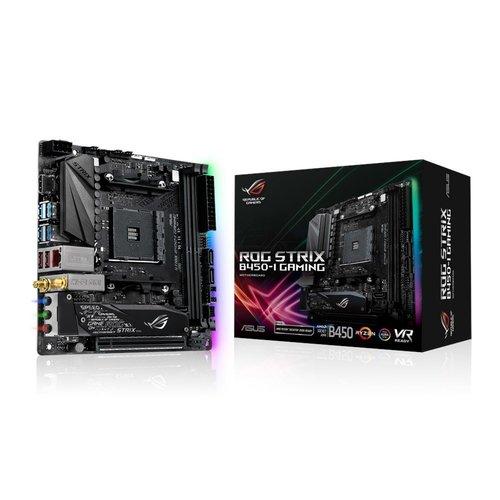 Asus ASUS ROG STRIX B450-I GAMING moederbord Socket AM4 Mini ITX AMD B450