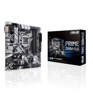 Asus ASUS PRIME Z390M-PLUS moederbord LGA 1151 (Socket H4) Micro ATX Intel Z390