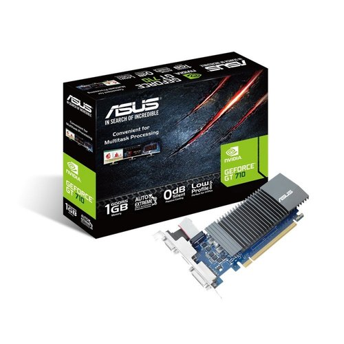 Asus VGA ASUS NVIDIA GeForce GT 710 / DDR5 / 1GB