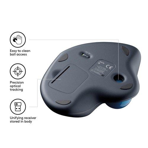 Logitech LOGITECH RET. Trackball Mouse