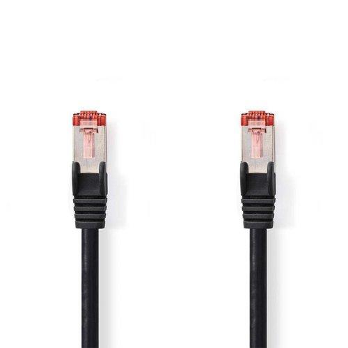 Nedis CCGP85221BK10 netwerkkabel 1 m Cat6 S/FTP (S-STP) Zwart