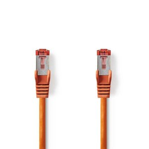 Nedis CCGP85221OG10 netwerkkabel 1 m Cat6 SF/UTP (S-FTP) Oranje
