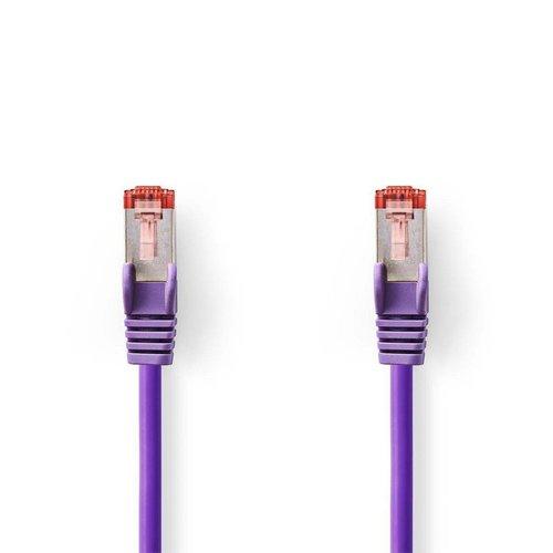 Nedis CAT6 S/FTP-netwerkkabel/RJ45 1.5m Paars