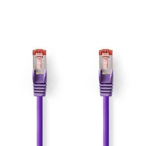 Nedis CAT6 S/FTP-netwerkkabel / RJ45 / 2m / Paars