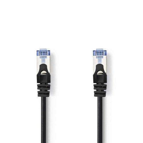 Nedis CAT6a SF/UTP-netwerkkabel / RJ45 / 3m / Zwart