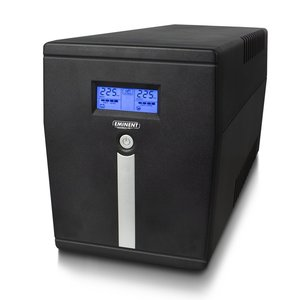 Eminent EM3942 UPS 2 AC-uitgang(en) Line-Interactive 1500 VA 900 W