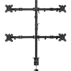 """Ewent EW1514 flat panel bureau steun 81,3 cm (32"""") Klem/doorvoer Zwart"""