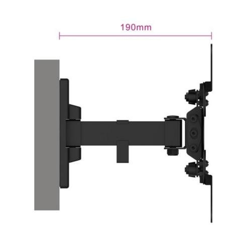 "Ewent Easy Turn TV wall mount M, 2 pivot, 13"" - 42"""