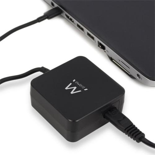 """Ewent Type-C notebook charger notebooks up to 15,6"""", Slim"""